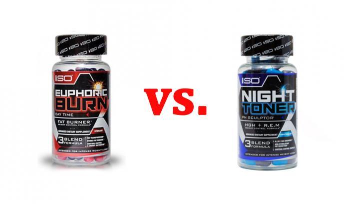 ISO Euphoric Burn vs. Night Toner