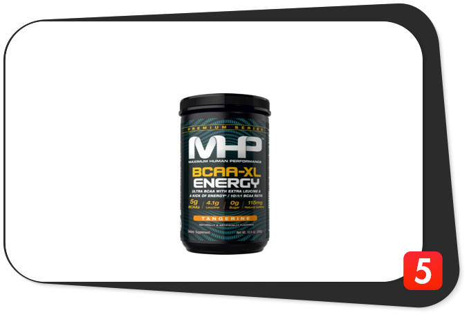 MHP BCAA-XL ENERGY Review – Fillers Almost Slay This Two-Headed Monster