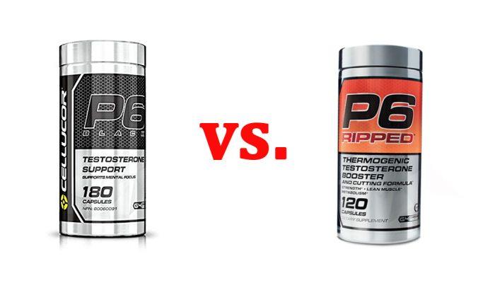 P6 Black vs. P6 Ripped
