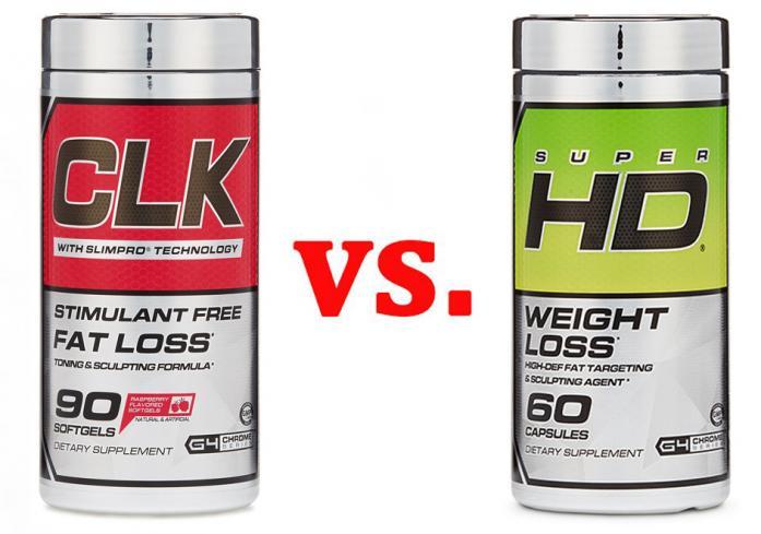 Comparison review of cellucor clk vs. super hd