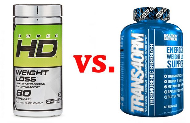 Cellucor Super HD vs. Trans4orm