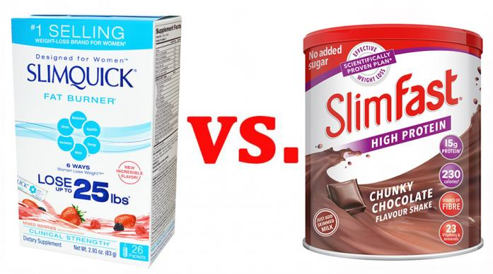 SlimQuick vs. SlimFast – Battle of the Billion-Dollar Weight Loss Brands