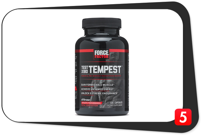 Test X180 Tempest Review – A Powerful Storm of Muscle Pumps and Energy