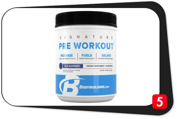 Bodybuilding.com Signature Pre-Workout Review – Classic Example of Ruining A Good Thing