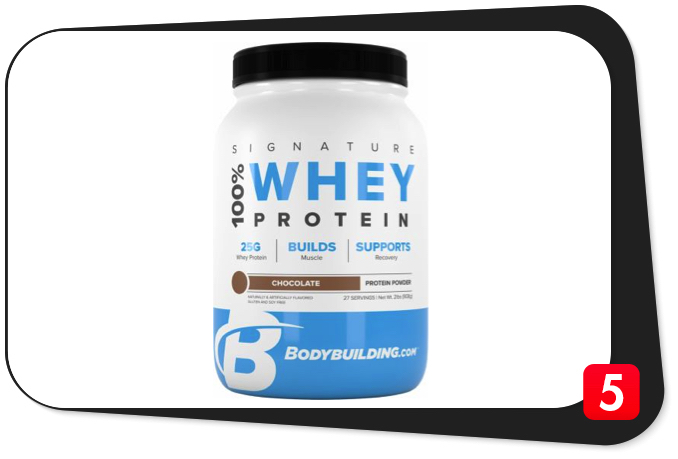Bodybuilding.com Signature 100% Whey Protein Review – High-Profile Protein Supplement Falls Short of Expectations
