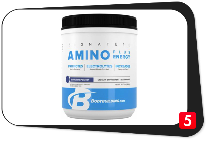 Bodybuilding.com Signature Amino Plus Energy Review – A Bona Fide Work In Progress