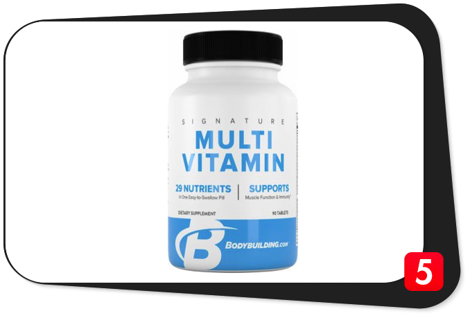 Bodybuilding.com Signature Multivitamin Review – Athlete Multivitamin Delivers the Goods