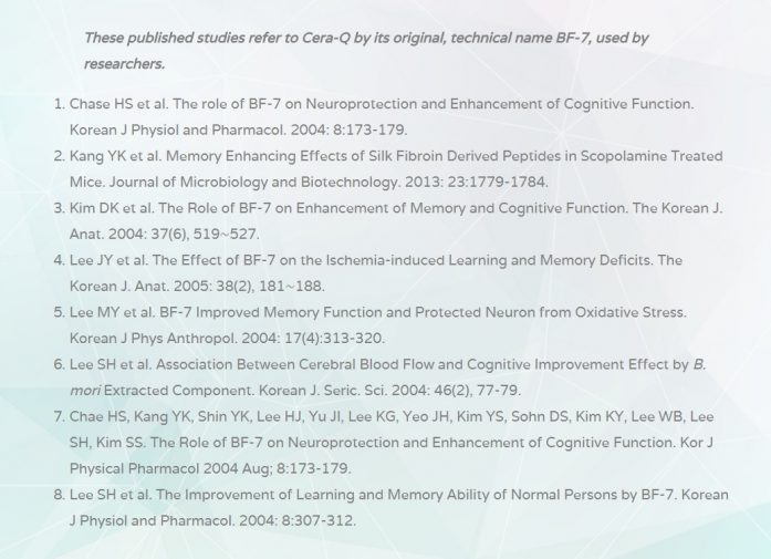 CERA-Q Key Research