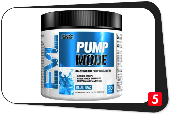 EVLUTION NUTRITION PumpMode Review – Non-Stimulant Pump Accelerator Goes Above and Beyond Call of Duty