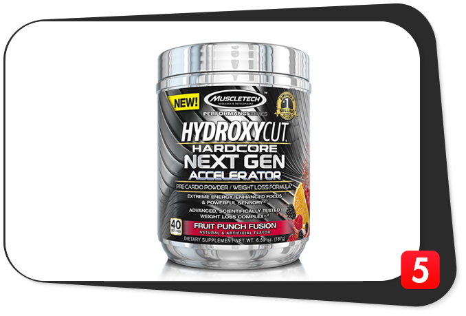 Hydroxycut Hardcore Next Gen Accelerator Review – For All Your Pre-Cardio, Gut-Busting Needs