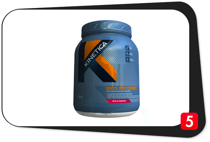 Kinetica 100% Recovery Review – UK Post-Workout Has Promise, But Leaves You Shortchanged