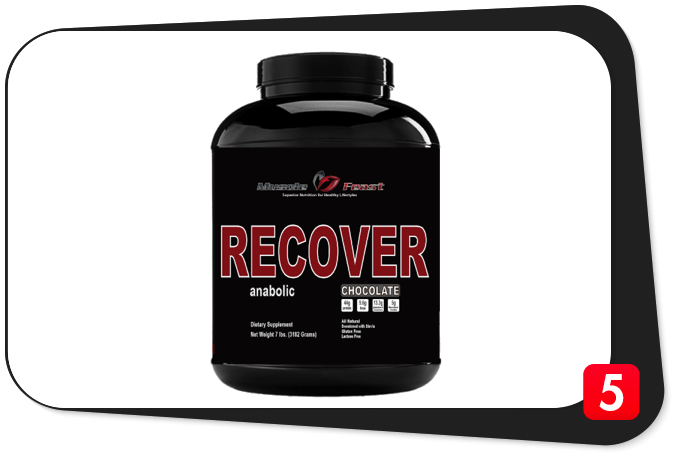 Muscle Feast Anabolic Recover Review – Perfect Post-Workout Pulls Out All the Stops