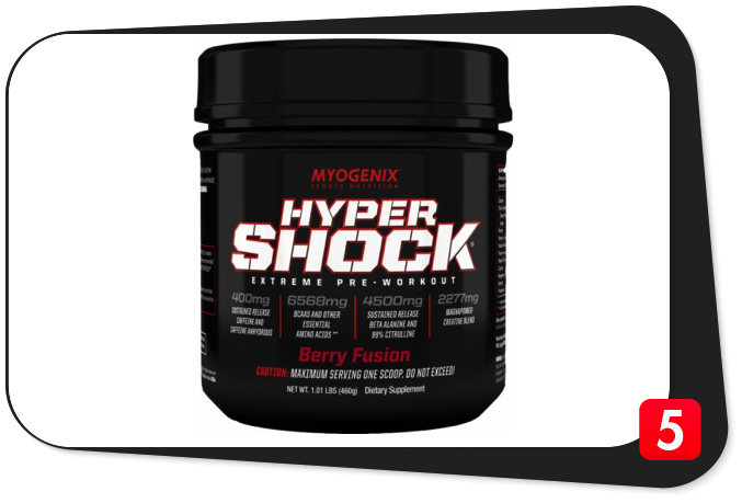 MYOGENIX HYPERSHOCK Review – The Most Complete Pre-Workout Formula on the Planet Does A Dr. Jekyll and Mr. Hyde