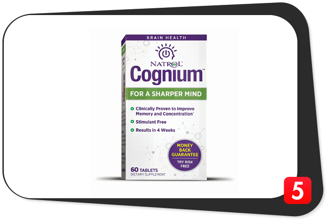 Natrol Cognium Review – Big Promises, but the Numbers Don't Add Up