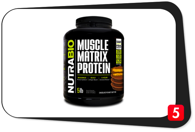 NutraBio Muscle Matrix Protein Review – 4-Hour Complete Protein Matrix The Bane of Catabolism