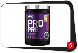 Optimum Nutrition PRO PRE Review – Versatile Pre-Workout Will Wow You