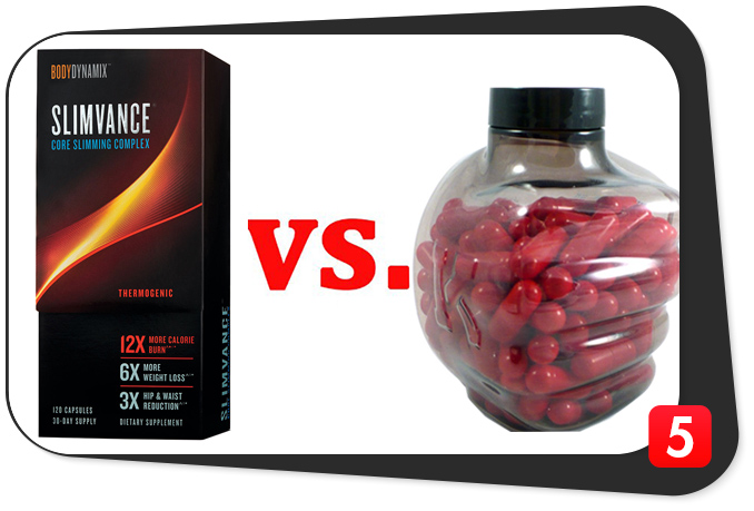 Slimvance Thermogenic vs. Instant Knockout