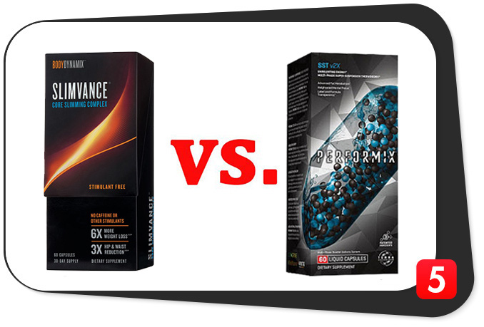 Slimvance Thermogenic vs. Performix SST v2X - Best 5