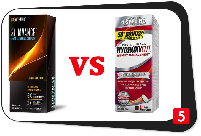 Slimvance® vs. Hydroxycut®: Battle of the Fat Burners