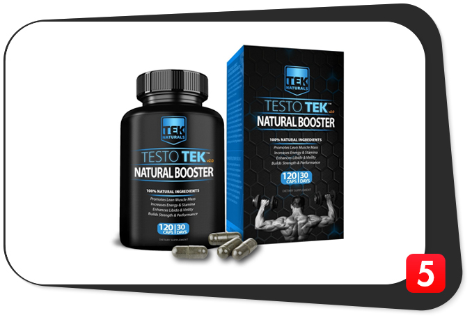 TestoTEK Review – All Natural Boosts in All Natural Caps for All Natural Men