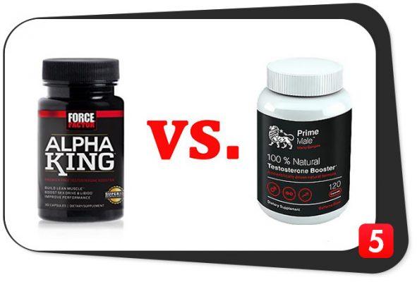 Alpha King vs. Prime Male