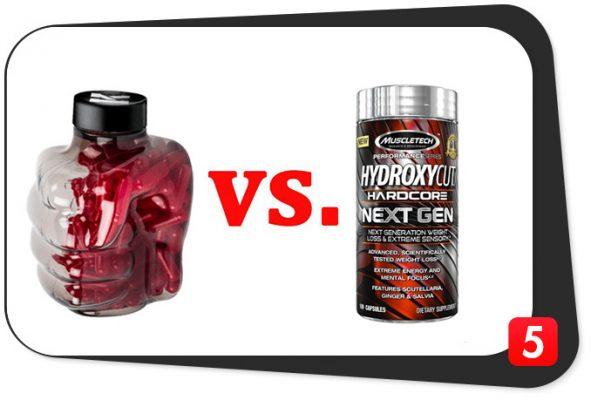 Instant Knockout vs. Hydroxycut Hardcore Next Gen