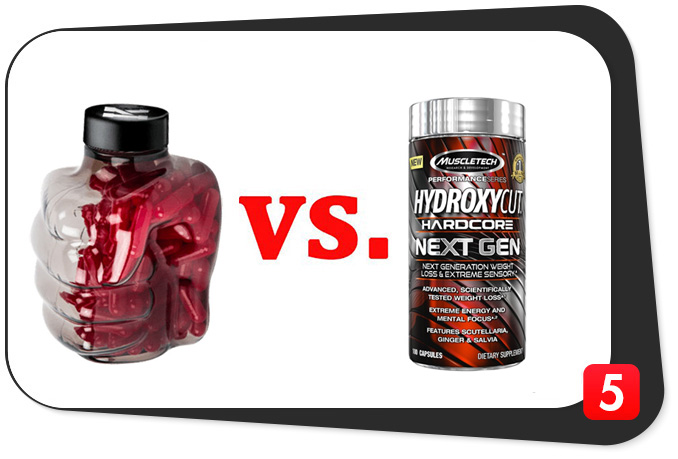 Instant Knockout vs. Hydroxycut Hardcore Next Gen