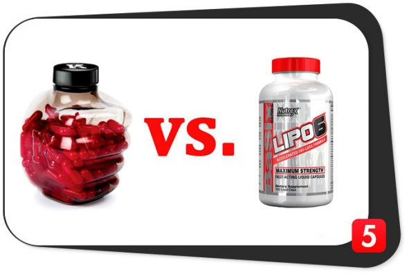 Instant Knockout vs. Lipo-6