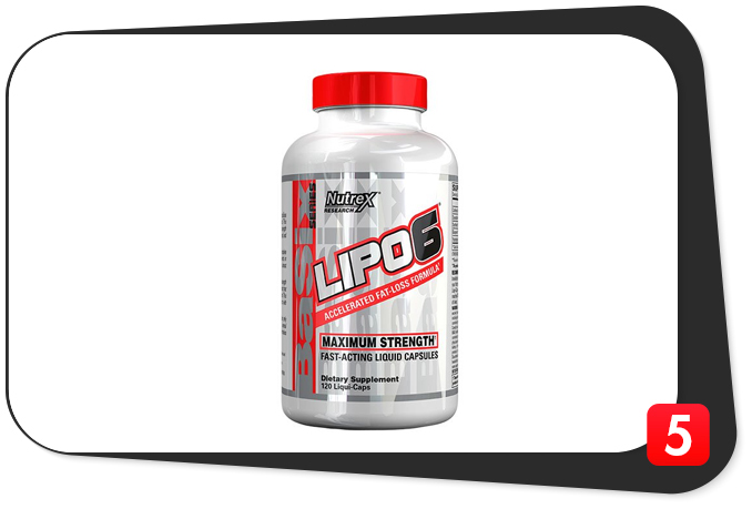 Lipo-6 Review – Stimulants on Stimulants for Heart-Racing Thermogenesis