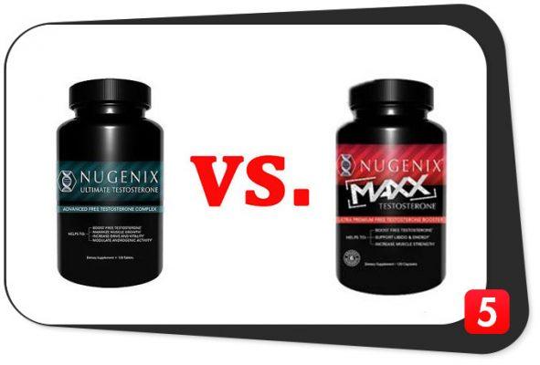 Nugenix Ultimate vs. Nugenix Maxx