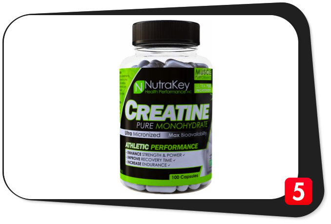 NutraKey Creatine Monohydrate Review – Not Your Average Creatine Monohydrate Supplement