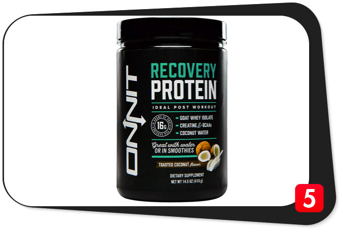 ONNIT Recovery Protein Review – So-Called 'Ideal Post-Workout' Worth A Shot
