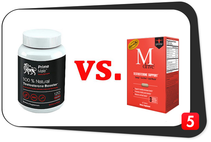 Prime Male vs. Mdrive Prime