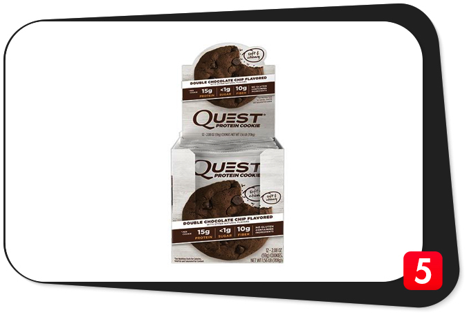 QUEST Protein Cookie Review – High-Profile Protein Cookie Underwhelms