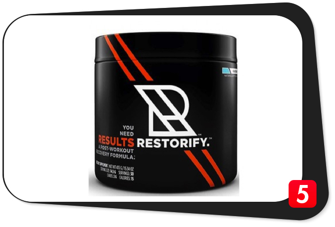 RESULTS RESTORIFY Review – Clinical Strength Post-Workout Fuel Falls Short of Expectations