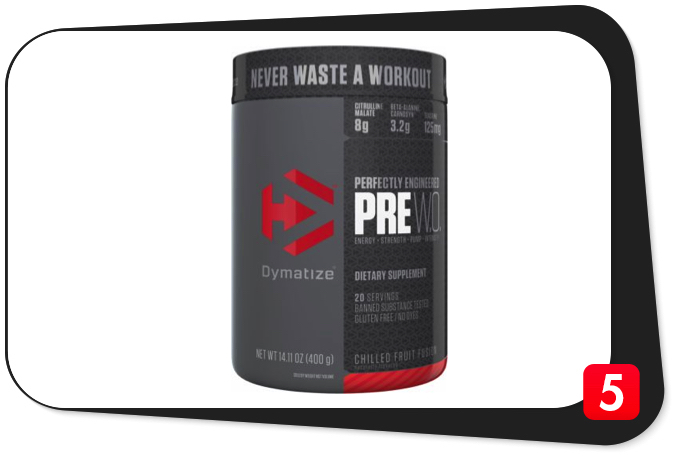Dymatize Pre W.O. Review – Perfectly-Engineered Pre-Workout Makes A Statement