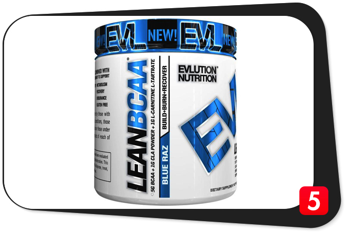 EVLUTION NUTRITION LEAN BCAA Review – This Lean Muscle BCAA Formula Exceeds Expectations