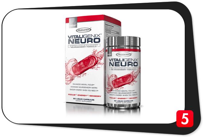 MuscleTech VITALIGENIX NEURO Review – Neurosensory Stack Packs a Workout-Targeted Wallop