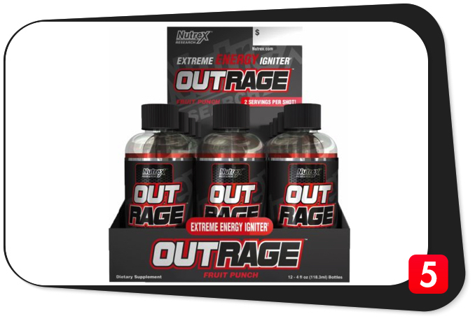 Nutrex OUTRAGE Review – Extreme Energy Igniter Fizzles Out