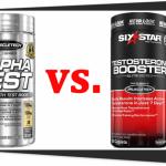 AlphaTest vs. Six Star Testosterone Booster