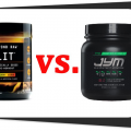 Pre workout supplements Beyond Raw Lit vs Pre Jym Image