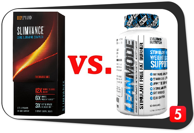 Slimvance Thermogenic vs. Leanmode