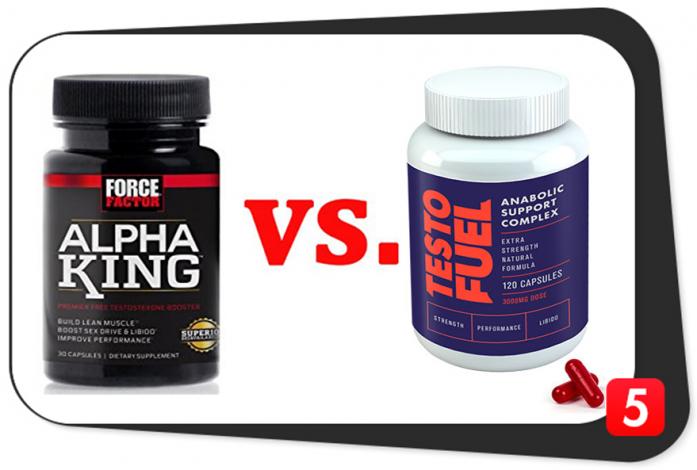Alpha King vs. Testofuel