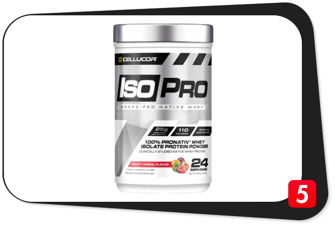 Cellucor IsoPro Review – Grass-Fed Native Whey A Worthy Investment