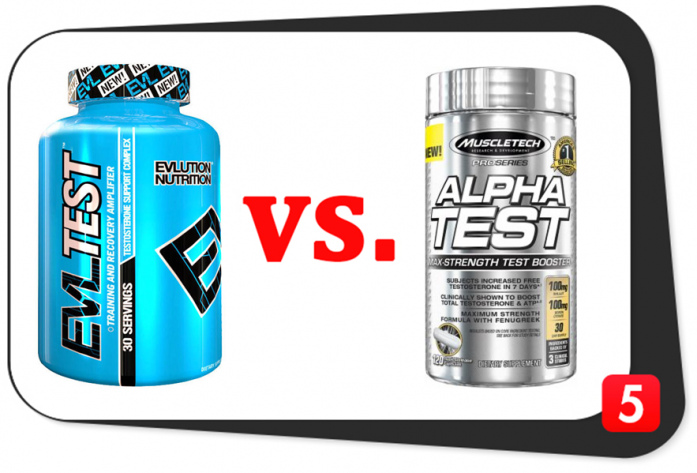EVLTEST vs. Alpha Test
