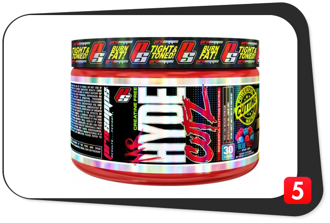 preworkout supplement mr hyde cutz