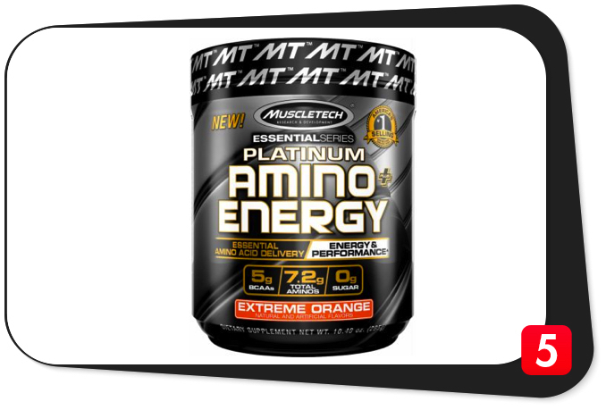 MuscleTech Platinum Amino + Energy Review – Advanced Amino Acid Formula With Energy Makes The Grade