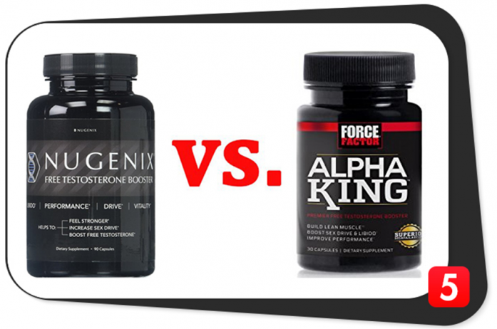 Nugenix Free Testosterone Booster vs. Alpha King