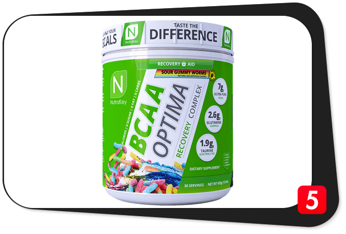 NutraKey BCAA Optima Review – Turn Your Pain Into Gain