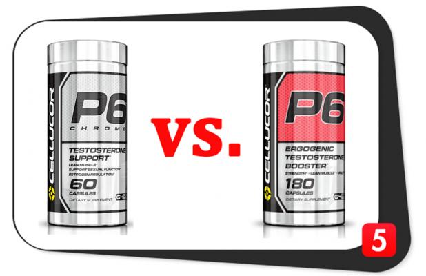 Cellucor P6 Chrome vs. P6 Red
